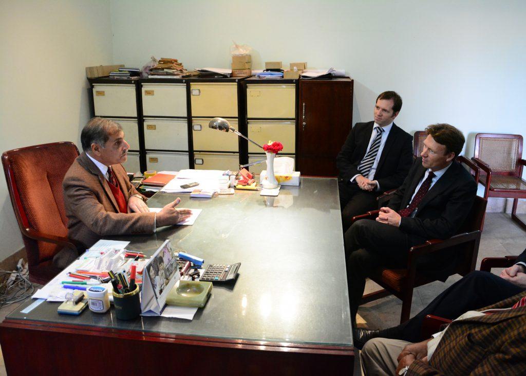 Ambassador's Visit